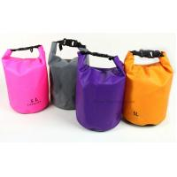 Custom Color Waterproof Dry Bags Cylinder 5L Tarpaulin With Heat Seal Technique