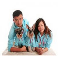 2015 new design fleece hoodie dog clothes matching dog and human pet clothes clothes Manufactures