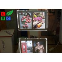 Quality Double Graphic LED Light Box Panels , DC 12V Advertising Light Box For Window Display for sale