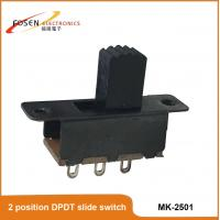dpdt mini power slide switch 2 position slide switch 3 pin DIP switch Manufactures