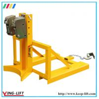 Single Eagle-grip Fork Truck Mounted Drum Grabs DG360D Manufactures