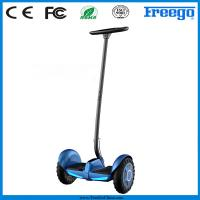 Portable Lithium Battery 2 Wheeled Electric Standing Scooter For Policeman Manufactures