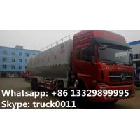 Quality 40cbm animal bulk feed tank truck for sale,CLW brand 20tons-25ton dongfeng farm for sale
