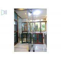 Quality Hotel Aluminium Folding Doors Anodized Silver Internal Frameless Glass Doors for sale