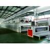 Finishing Heat Setting Stenter Machine Gas Direct Heating 3 - 12m / Min Manufactures