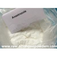 High Purity Anti Estrogen Steroids Raw Powders Anabolic Anastrozoles / Arimidex Manufactures