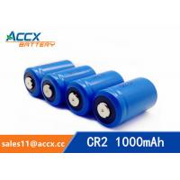 LiMnO2 CR2 3.0V 1000mAh primary battery with high quality Manufactures