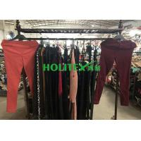 UK Style Used Winter Clothes Mixed Size With Polyester / Cotton Material Manufactures