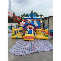 cheap giant  Inflatable Slide Commercial  Inflatable Slide  inflatable bouncy castle with slide Manufactures