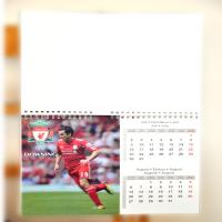 2015 customized spiral 3d lenticular wall calendar with memo book Manufactures