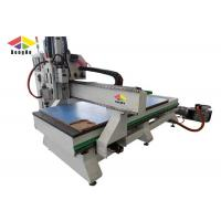 Acrylic Engraving 4 Axis CNC Router Engraver Milling Machine With Three Spindles Manufactures