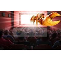 Amazing Indoor 4D cinema system with Flat / Arc / Circular Silver Metal Max Screen Manufactures