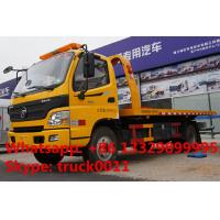 Quality BEST PRICE FOTON AUMARK road recovery truck tow truck for sale, factory direct for sale