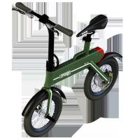 "Green Power Foldable Electric Scooter , 12"" Electric Wheel Bike Manufactures"