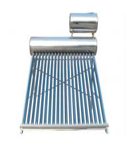 non pressure vacuum tube solar water heater for Turkey market Manufactures