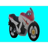 Double - line Custom Inflatable Products , Motorcycle For Advertising Good Speeding Manufactures