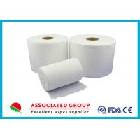 Extra Thick Non Woven Material / Spunlace Non Woven Fabric For Industrial , Eco Friendly Manufactures