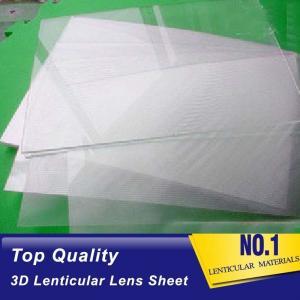 Plastic  Lens PS/PET/PP Material 75/100/161 Lpi 3d lenticular lens sheet lenticular printing films with 3d flip effect Manufactures