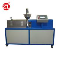Professional ABS Color Masterbatch Single Screw Extruder Equipment For Rubber And Plastic Manufactures