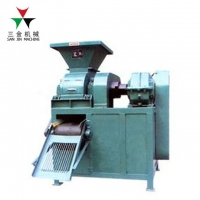 China BBQ 3t/H 360mm Roller 7.5kw Charcoal Press Machine on sale