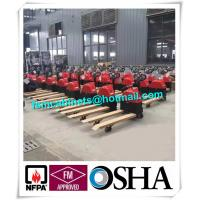 Manual jack hand hydraulic pallet truck trolley , Drum storage cabinet used jacking trolley Manufactures