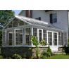 Buy cheap Modern Green Aluminium Greenhouse Polycarbonate , Portable Small Aluminium Greenhouse from wholesalers