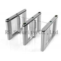 SS Barrier Access Control Turnstiles , Slim Lane Traffic High Speed Gate Systems Manufactures