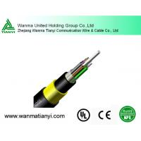 ADSS aerial Self-supporting 12 core 24 core Fiber Optic Cable Manufactures