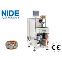 Single side Inuction Motor Stator Winding Lacing Machine / Lacing speed 0.7S/slot Manufactures