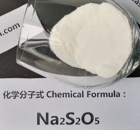 Sodium Metabisulphite seafood antioxidant, Sodium Metabisulfite Preservative So2 65% Purity Manufactures