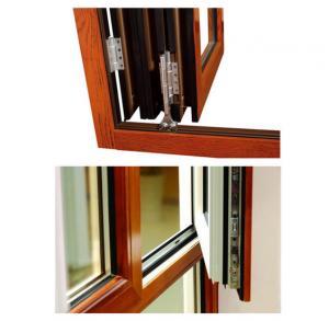 PVDF Painting Aluminum Extruded Profiles , GB75237-2004 Silding Aluminium Window Extrusions Manufactures