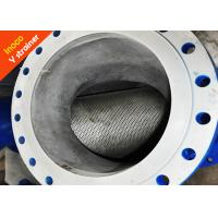 BOCIN Precision Flange Y Liquid Strainer Filter / Steam Purification High Strength Manufactures