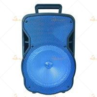 Professional Disco Light Bluetooth Trolley Speaker , 15 Inch Stage Active PA Speaker Manufactures