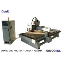 Computerized 3D 4 Axis CNC Router Machine For Cabinet Door Cutting / Engraving Manufactures