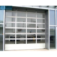 Buy cheap Thermal Insulated Aluminum Frame Organic Glass Sectional Doors from wholesalers
