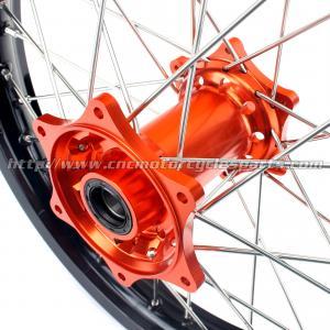 Quality KTM Black Custom Aluminum Motorcycle Wheels Rims For Dirt Bike for sale