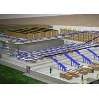 Fully Automated Sorting Conveyor Systems Line For Furniture Industry Manufactures