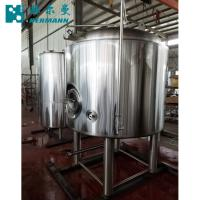 China Vertical Brite Brewing Tank ,500L PLC Control Brewery Stainless Steel 304 Bright Tank on sale