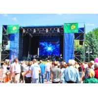 Super Light Outdoor Rental LED Display Slim Aluminum Stage P6 LED Video Wall Manufactures