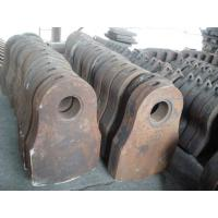 Quality Manganese casting parts hammers, Grates for metal shredder for sale