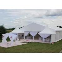 300 - 1000 M2 Luxury Wedding Tents Aluminum Alloy Structure With Canopy Manufactures