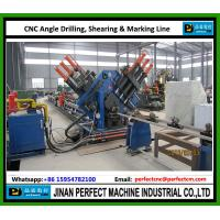 Buy cheap CNC Angle Line for Drilling and Marking Line used in power transmission tower industry China TOP Supplier from wholesalers