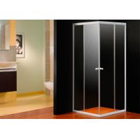 EN12150 Approval 4mm Glass Corner Shower Enclosure Square With Shower Tray Manufactures