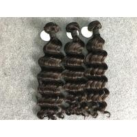 Grade 8A Natural Black 100% Brazilian Virgin Hair Extensions For Black Women Manufactures