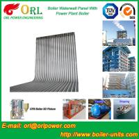 High Pressure CFB Boiler Water Wall Panels  Water Tube ASME with Certification Manufactures
