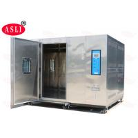 20% - 98% Rh Walk In Climatic Stability Chamber Electronic For Auto Spare Parts Manufactures