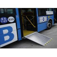 China 12V or 24V Dimension Customized Electric Aluminum Bus Wheel chair Ramp on sale