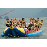 2.0mm PVC Tarpaulin Kids Inflatable Water Ski Towable Tubes In Sea / River Manufactures