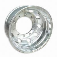 22.5 x 9.00 Aluminum Truck Wheel Rim with High Performance and 22mm Thickness Manufactures