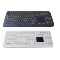 Quality Professional IP68 Medical Backlit Keyboard with Flat Keys and Sealed Touchpad for sale